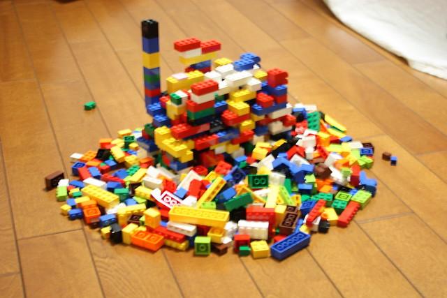 LEGO たくさん