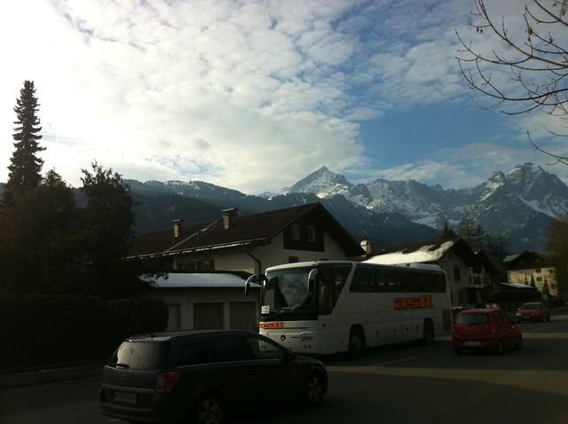 Der Morgen der Männer-Abfahrt - Ski-WM 2011