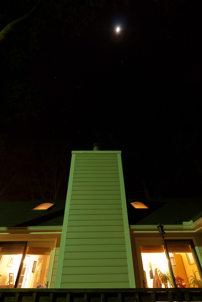 Stars over Carrboro