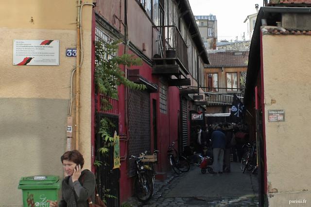 Haut lieu de l'anarchie française : la CNT