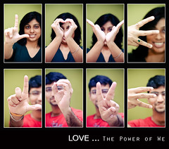 LOVE - The Power of We (@k@sh) Tags: love home canon 350d 50mm day flash bangalore we valentines mad f18 akash pcalove bemyflickrvalentine