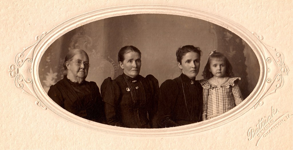 Four Generations, Albumen print, circa 1902