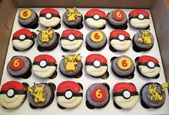 Pokemon Cupcake Rings Pokemon Cupcakes Cutie Cakes