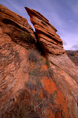 Tilt Rock_DSC5511_2_3_4_fused (antelope reflection) Tags: desert southernutah redrock stgeorge snowcanyon