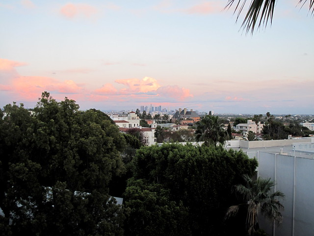 View from our hotel - Standard on Sunset
