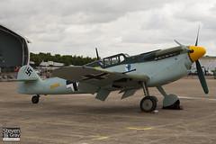 G-BWUE - 223 - Historic Flying Ltd - Hispano HA.1112-M1L Buchon - 100711 - Duxford - Steven Gray - IMG_6862
