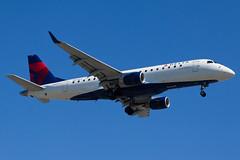Delta Connection (Compass Airlines) Embraer ERJ-175 N613CZ (jbp274) Tags: lax klax airport airplanes embraer e175 erj175 deltaconnection compass compassairlines cp