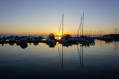 Nine Days of Sunsets: July 5, 2017 (Craig James White) Tags: canada ontario brucecounty saugeenshores sunset portelgin boats lakehuron