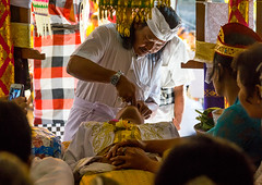Indonesian dentist during the tooth filing ceremony, Bali island, Canggu, Indonesia (Eric Lafforgue) Tags: anxiety asia asian bali bali2729 balinese beliefs canggu ceremony clothing colorimage customs dentist filing groupofpeople headwear hindu hinduism horizontal incisor indigenouspeople indonesia indonesian indonesianculture manusa mesangih pain painful painfully realpeople rite riteofpassage rites ritual spiritual teeth tooth tradition traditional traveldestination baliisland