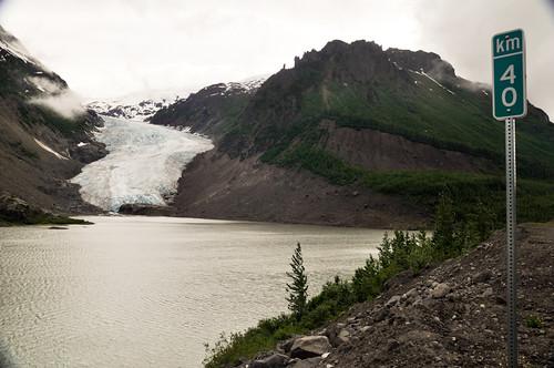 El glaciar del Oso (Bear Glacier)