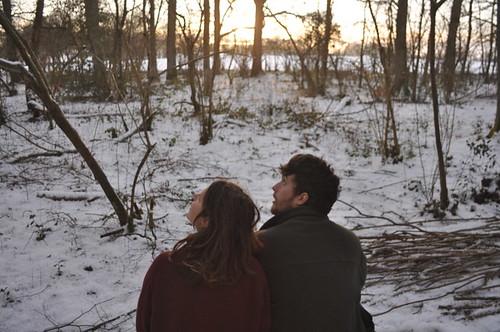 Rose and Will gaze sunward