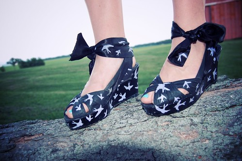 DIY Miu Miu Sparrow Shoes
