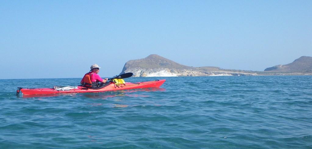 Cabo de Gata en kayak 428
