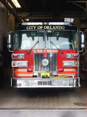 OFD Engine 2 (West Florida Fire Photography) Tags: ofd engine2 cityoforlando paramedicengine sutphenfireapparatus orlandofiredept floridafireapparatusandstations prideofparramore