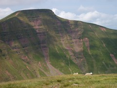 From Cribyn looking over to Pen-y-Fan (Taracy) Tags: mountains breconbeacons brecon penyfan cribyn
