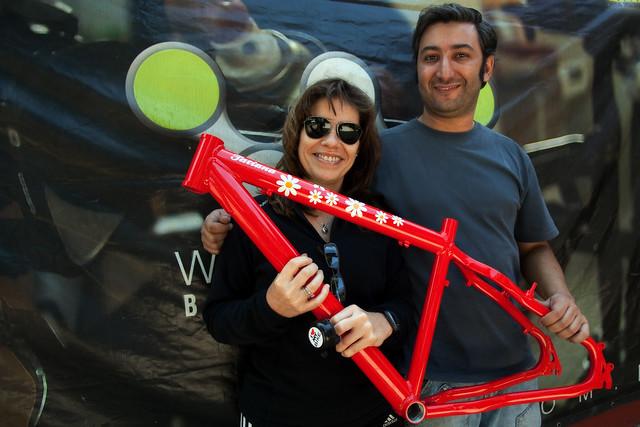 my bike Marcello e eu