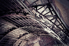 GOD has left the building (jaw0) Tags: abandoned philadelphia hotel arch pennsylvania decay steel ceiling ribs philly beams 54c063698