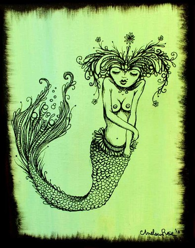 Green Mermaid- Love thy Self