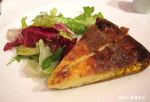 青木定治法式鹹派套餐