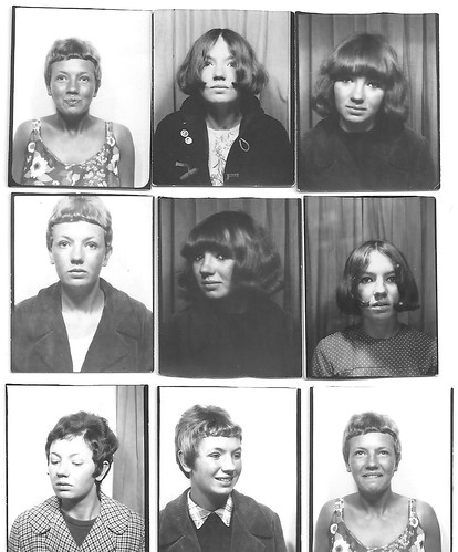 Cheryl De Carteret Photo booth pics 1960