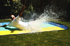 Papa-Slip and Slide
