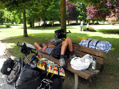 Justin naps in Citta di Castello