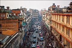 Kathmandu April 2000...memories.. (Katarina 2353) Tags: life city nepal sky people urban streets film architecture buildings photography spring nikon asia image kathmandu everyday katarinastefanovic katarina2353