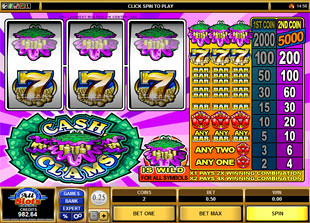 Cash Clams slot game online review