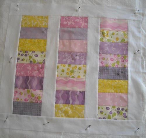 stacked coin doll quilt
