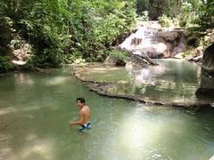 Erawan waterfalls niveau 2 je crois