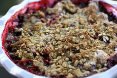 Strawberry Peach Crisp