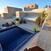 Spacious private rooftop terrace with outlets for gas, electric & cable