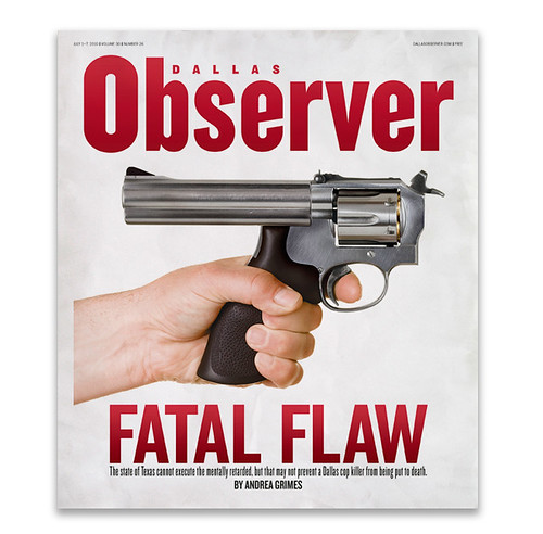 Dallas Observer Cover 07-01-10