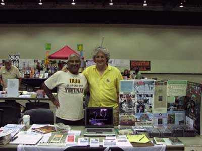 Clay Claiborne & VFP Pres Mike Ferner @ VFP Table