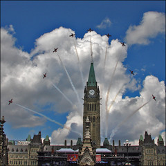 CANADA DAY (ViaMoi) Tags: canada day 1st ottawa capital july celebration canadaday independence parliamenthill snowbirds viamoi afternoonshow acrobaticflyingteam