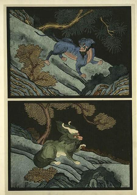 021-Animales-Les laques du Coromandel 1923- Eugene Alain Seguy