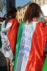 1-07-2010- Manifestazione a piazza Navona contro la Legge Bavaglio-10 (CGIL Nazionale) Tags: roma legge manifestazione cgil intercettazioni sindacato informazione fnsi bavaglio