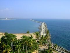 View from Thangassery Light House - Kollam (azimrasheedkhan) Tags: lighthouse india kerala kollam southindia arabiansea pulimuttu