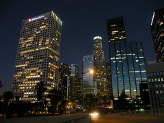 Escape from Downtown (Mark Luethi) Tags: nightphotography mystery losangeles escape downtownla markluethi