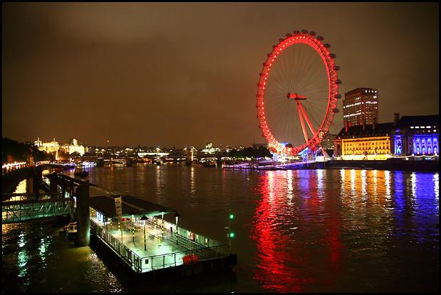 night-london-eye