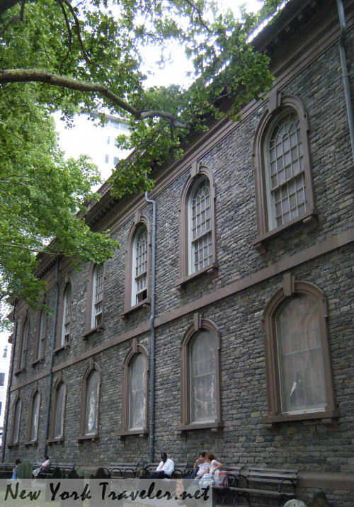 St Pauls Chapel NYC