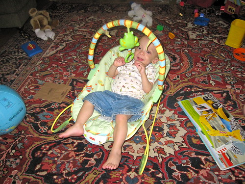 Good-bye bouncy seat