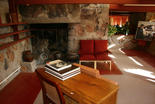 Taliesin West, Frank Lloyd Wright's Bedroom
