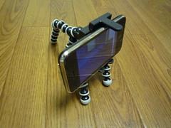 オクトパストライポッド + iPhone
