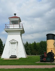 Lighthouse (Cindy's Here) Tags: lighthouse canada canon manitoba selkirk marinemuseum