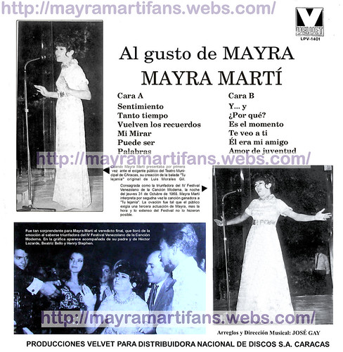 Al gusto de Mayra -back