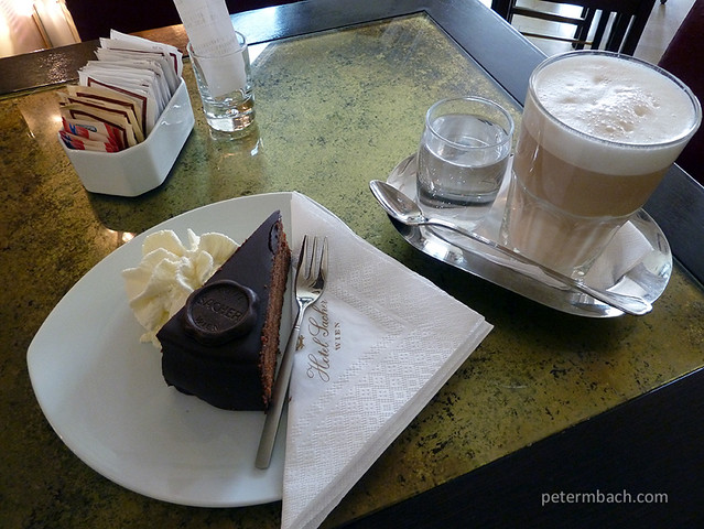 The original Sacher Torte (1)