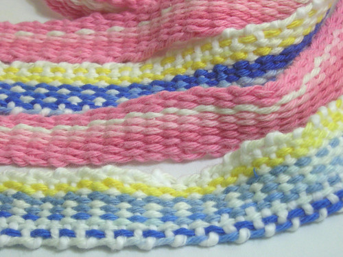 Cotton inkle bands