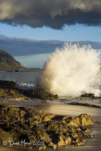 Crashing Surf at Kaena Point 3