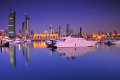 Kuwait - Blue Reflection ( Saleh AlRashaid / www.Salehphotography.net) Tags: sunset seascape art marina sunrise landscape photo long exposure cityscape gulf state photos outdoor middleeast arab canon5d kuwait nano souq d3 gcc kuwaitcity kuwaiti  q8  saleh sharq  kuwaity  alkuwait          kuwaitdesert kowait citynightshot stateofkuwait    d3x leefilters   kuwaitphoto kuwaitphotos kuwaitpic q8photo   q8pic    alrashaid salehalrashaid  salehphotographynet  kuwaitsanddunes